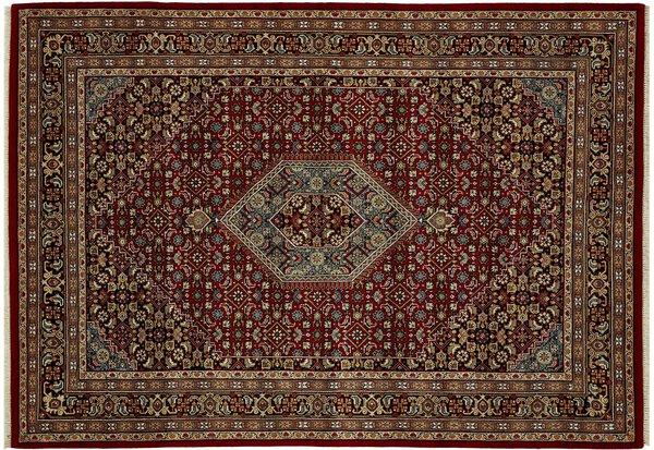 Orientteppich Benaras Bidjar Rug Studios  Textil rot