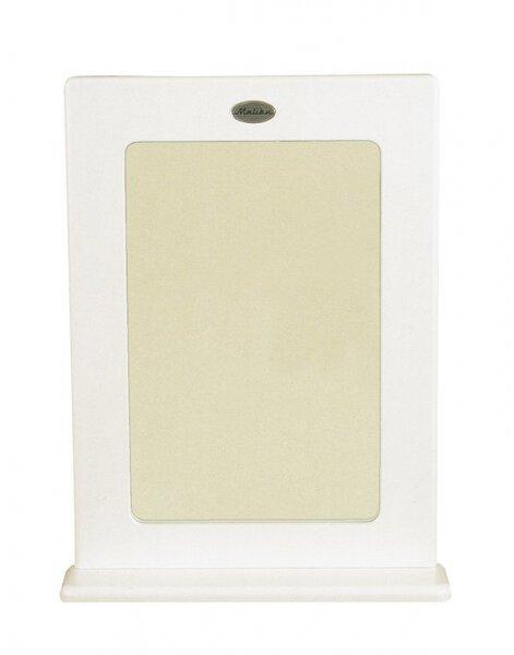 Spiegel TENZO Holzwerkstoff MDF weiß lackiert ca. 13 cm x 80 cm x 60 cm