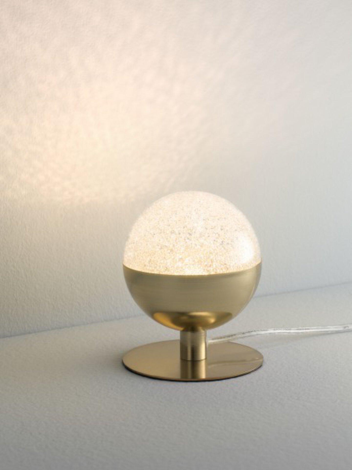 Tischleuchte Mira Casa Nova Metall gold 10 x 13 x 10 cm