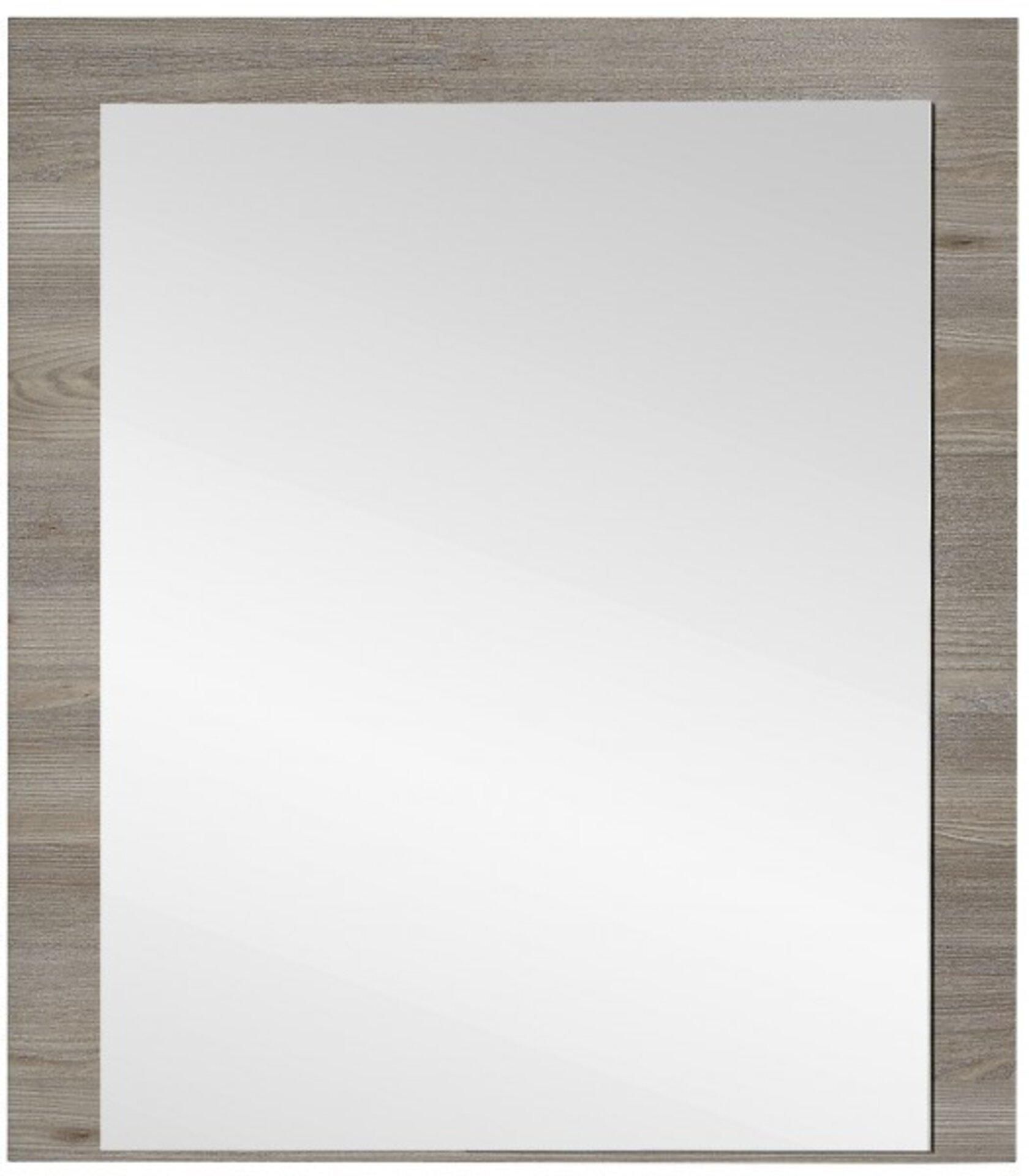 Spiegel ROCKY inDoor Holzwerkstoff braun 2 x 85 x 75 cm