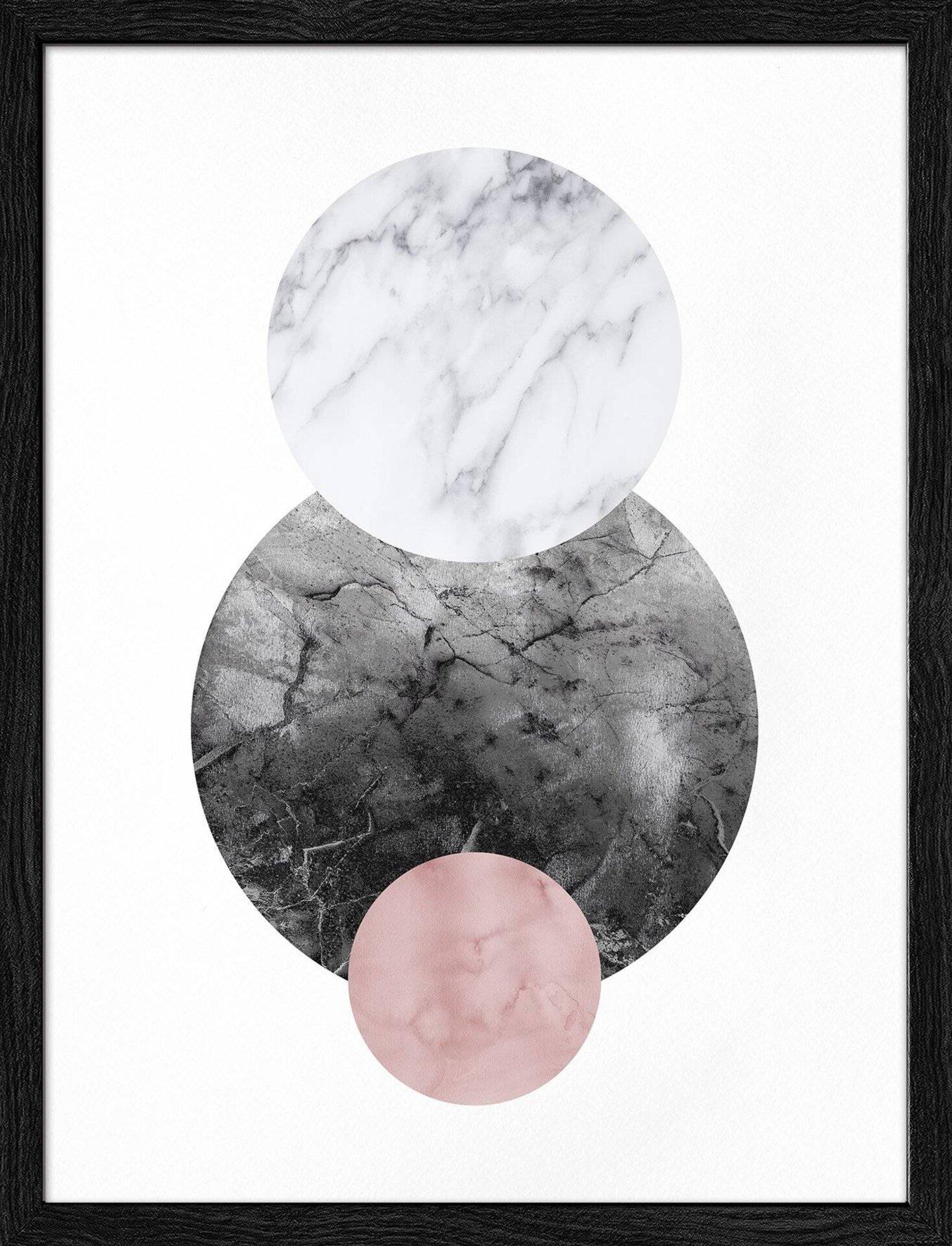 Bild Geometrical Forms II Pro-Art Papier mehrfarbig 42 x 32 x