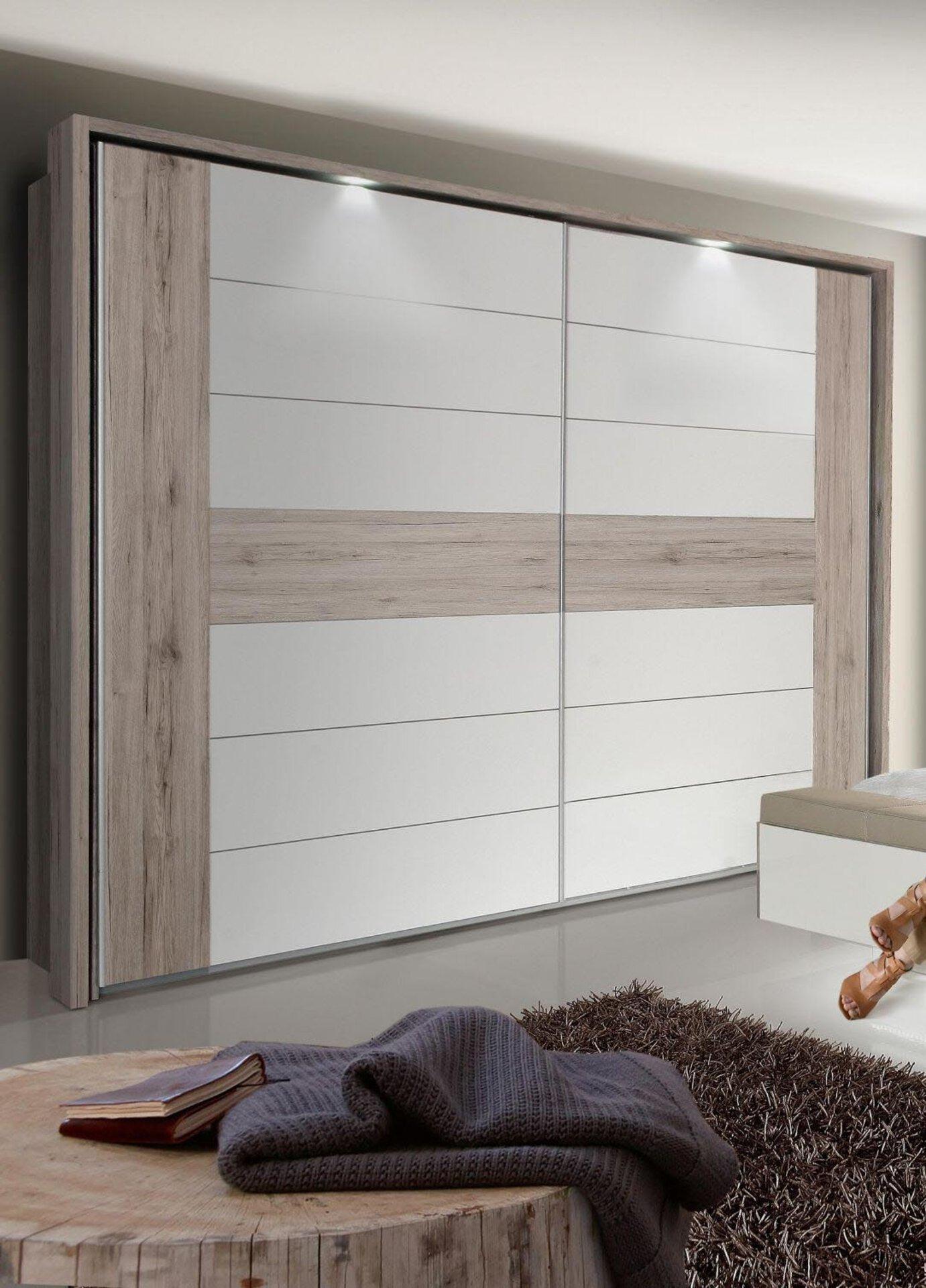 Schwebetürenschrank RONDINO Dreamoro Holzwerkstoff 210 x 61 x 270 cm