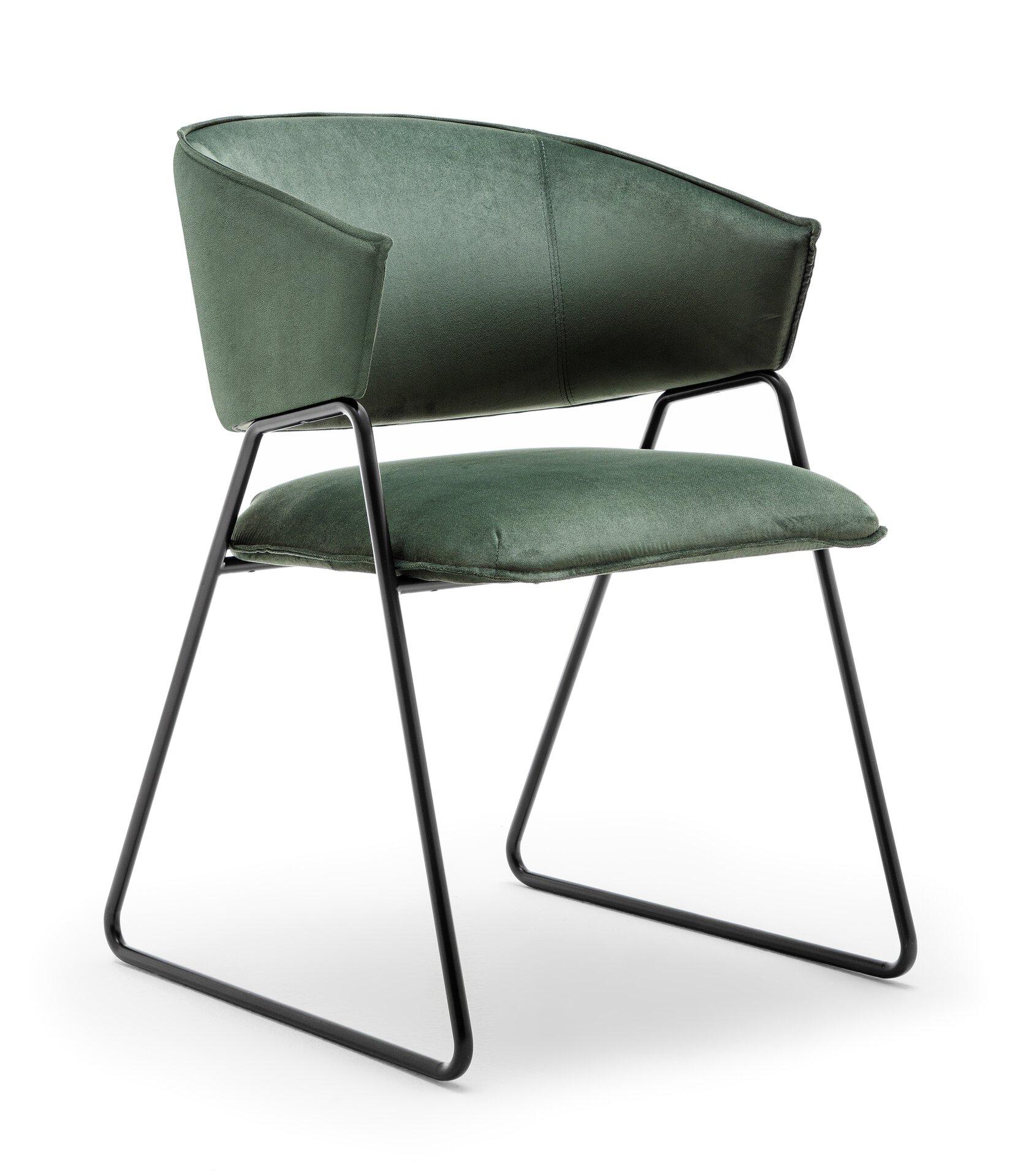 Stuhl Style Gwinner Textil mehrfarbig 57 x 83 x 54 cm