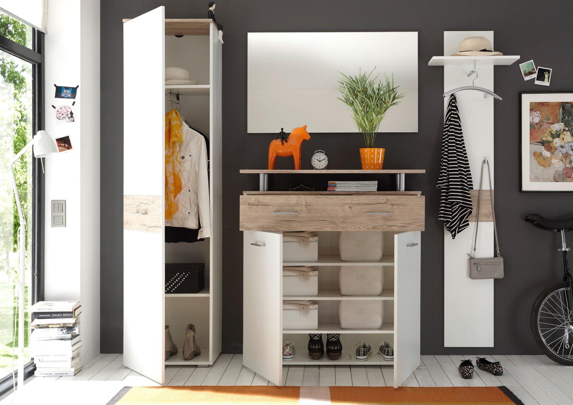 Garderoben-Set LIFT inDoor Holzwerkstoff 38 x 197 x 230 cm