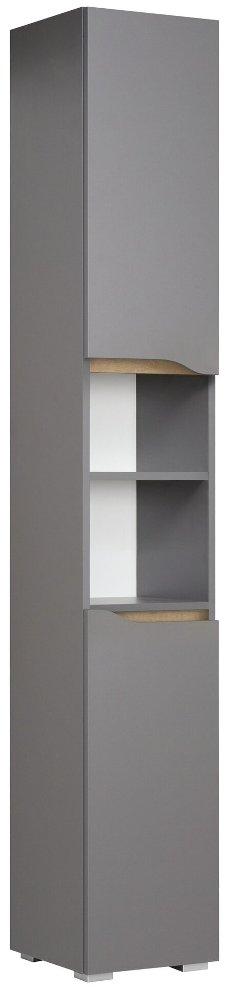 Hochschrank Capri PELIPAL Holzwerkstoff grau