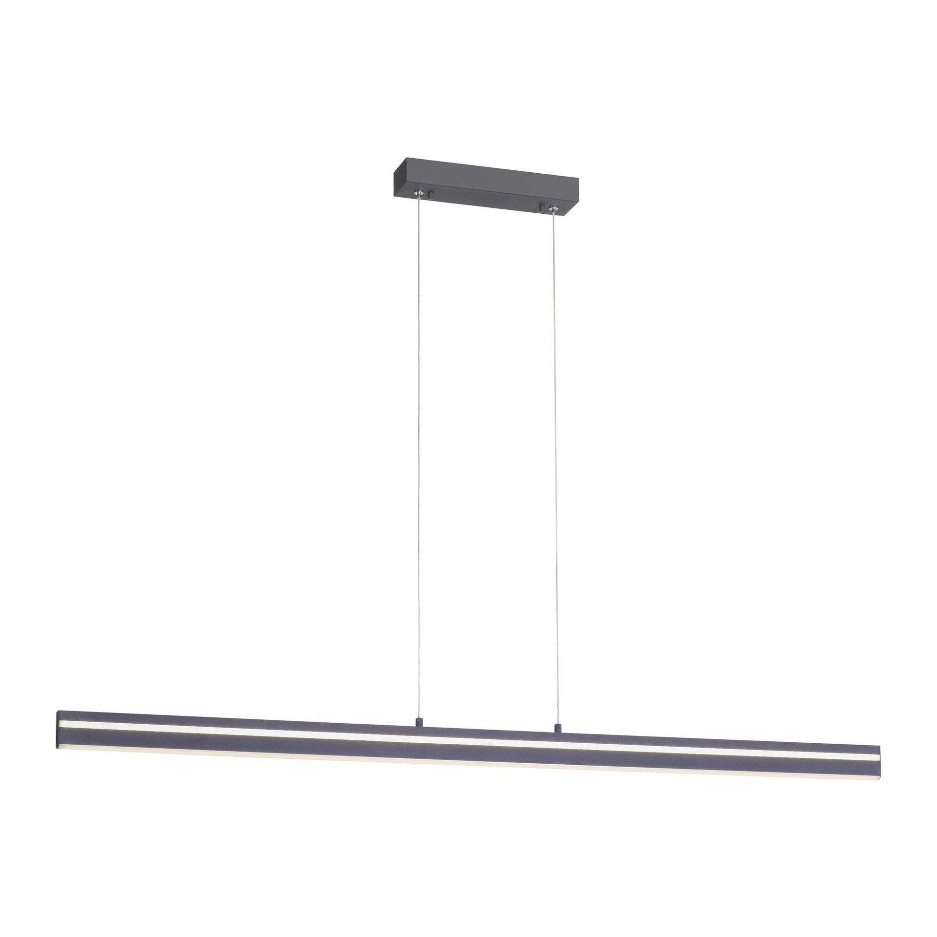 Smart-Home-Leuchten Q-VITO Paul Neuhaus Metall grau 7 x 120 x 130 cm