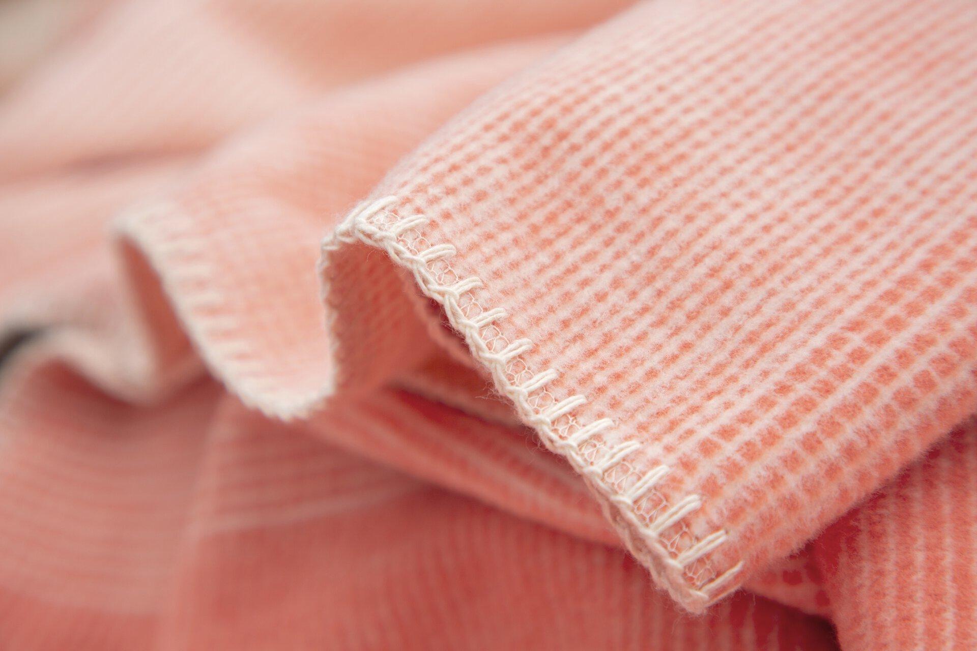 Jacquard Decke Salerno Ibena Textil orange 140 x 200 cm