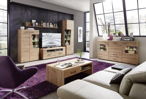 Couchtisch CELECT Holzwerkstoff Artisan Eiche Nachbildung ca. 110 cm x 40 cm x 65 cm