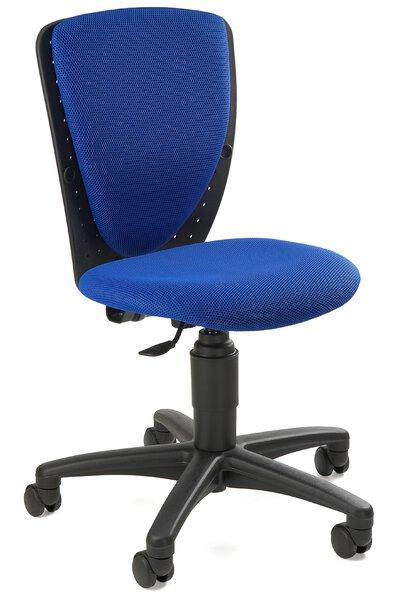 Drehstuhl Topstar Kunststoff, Textil Stoff Blau ca. 40 cm x 90 cm x 30 cm