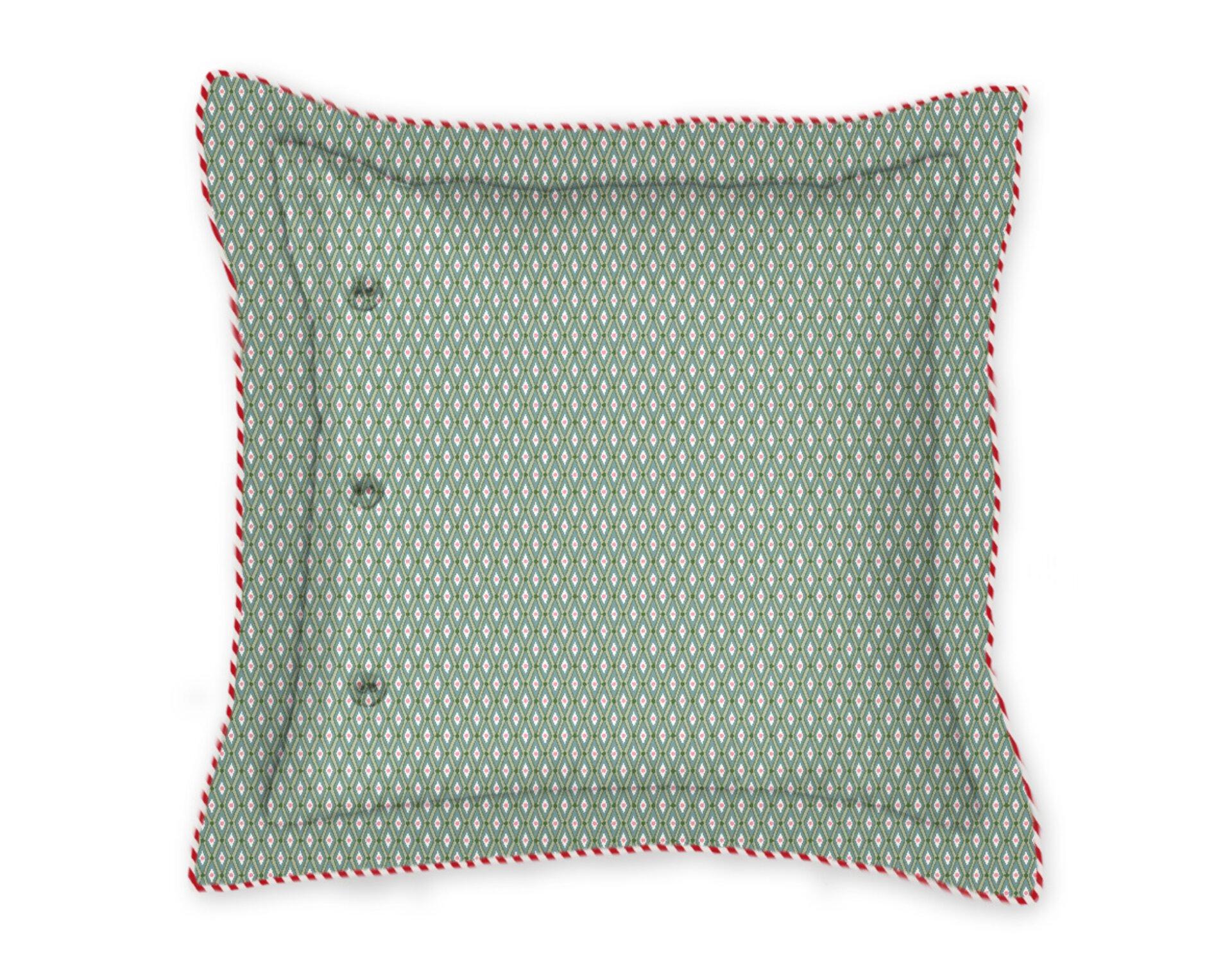 Kissen Petites Fleurs PIP STUDIO Textil gelb 45 x 45 cm