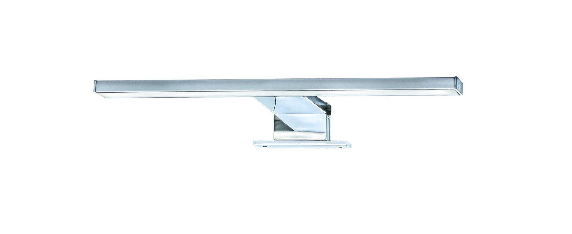Spiegelleuchte Brilo Bath Briloner Metall silber 10 x 4 x 30 cm