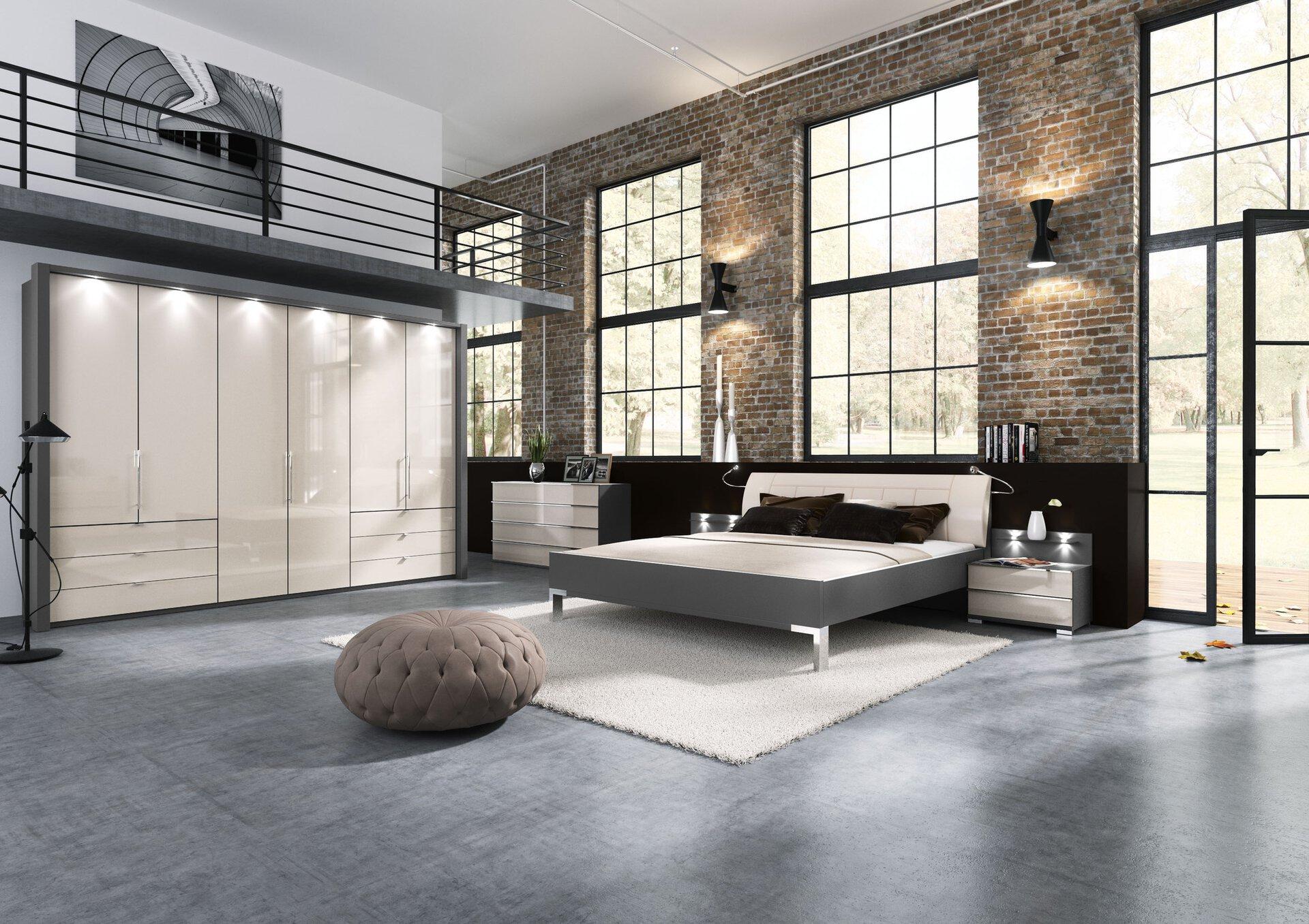Schlafzimmer LOFT Wiemann Holzwerkstoff beige