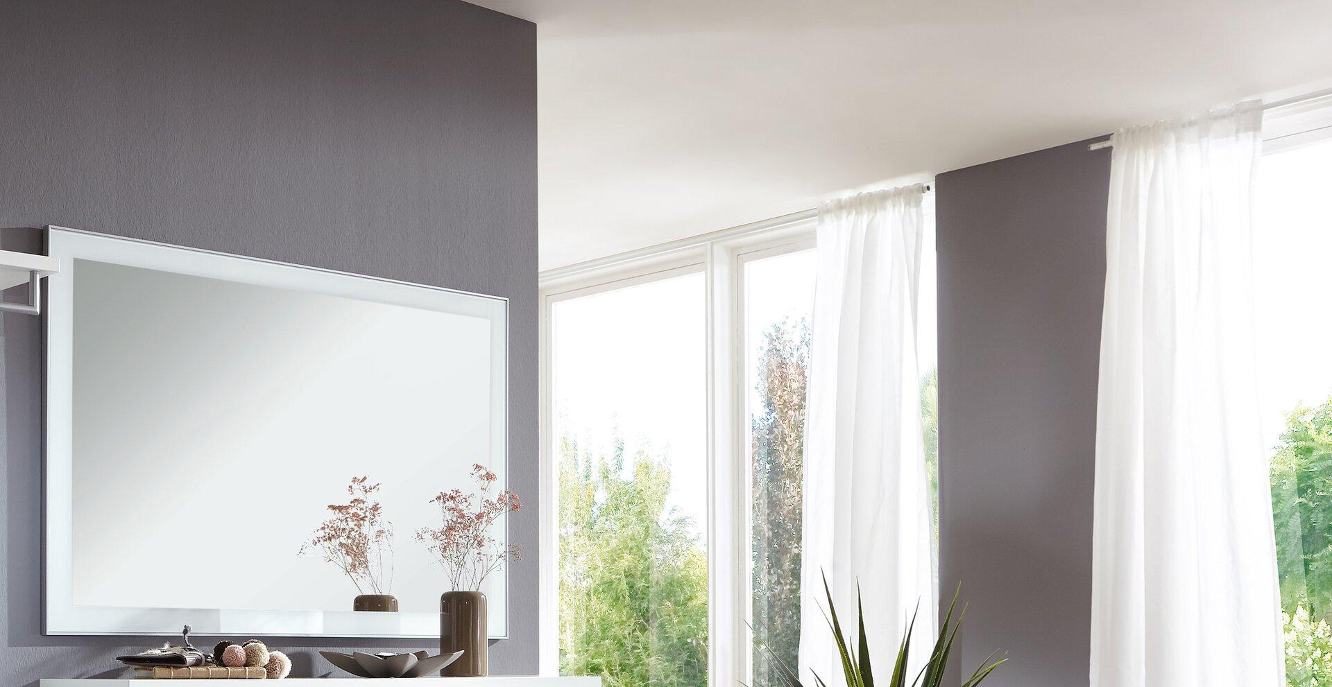 Spiegel SANTINA Voss Möbel Holzwerkstoff mehrfarbig 2 x 77 x 120 cm