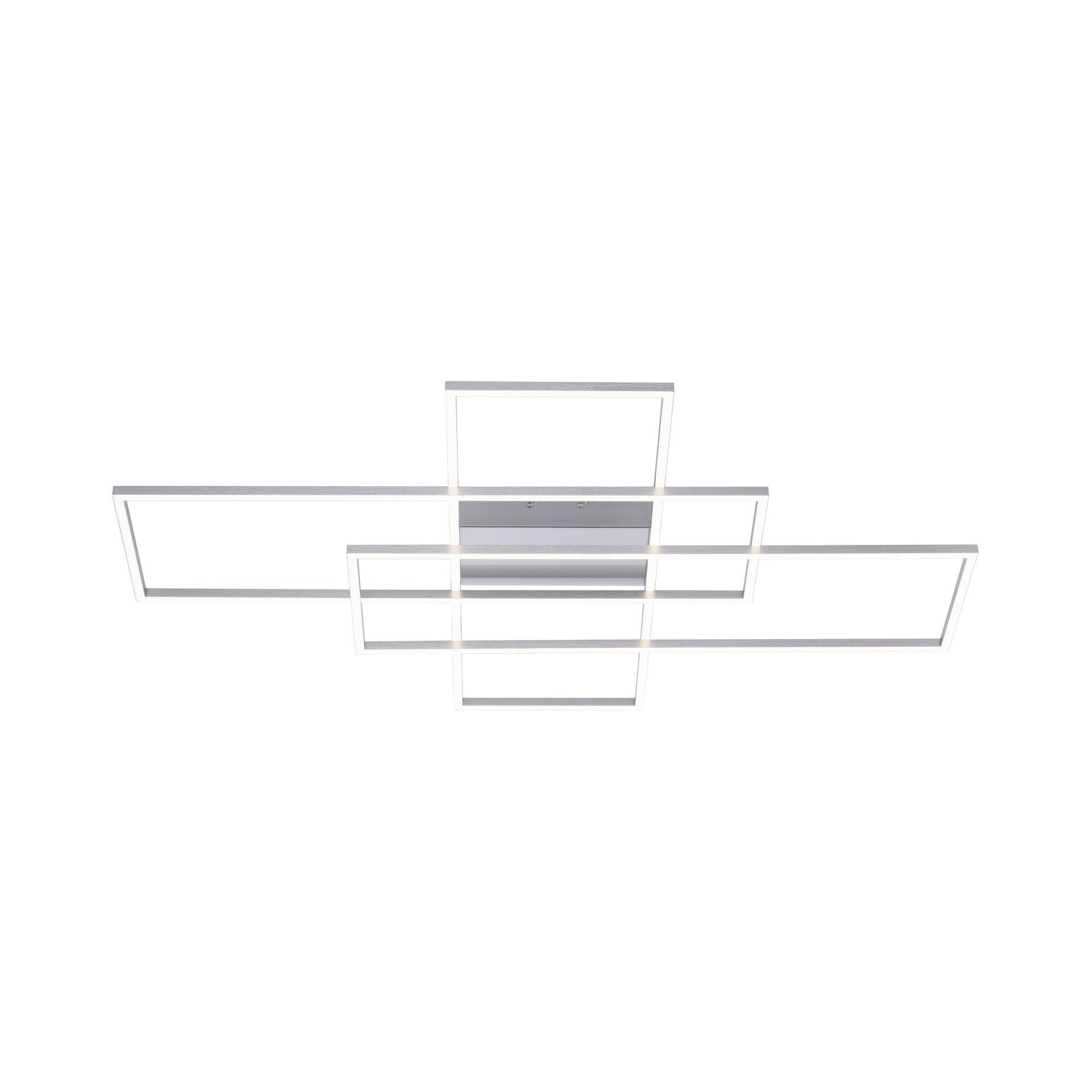Smart-Home-Leuchten Q-INIGO Paul Neuhaus Metall silber 75 x 8 x 101 cm