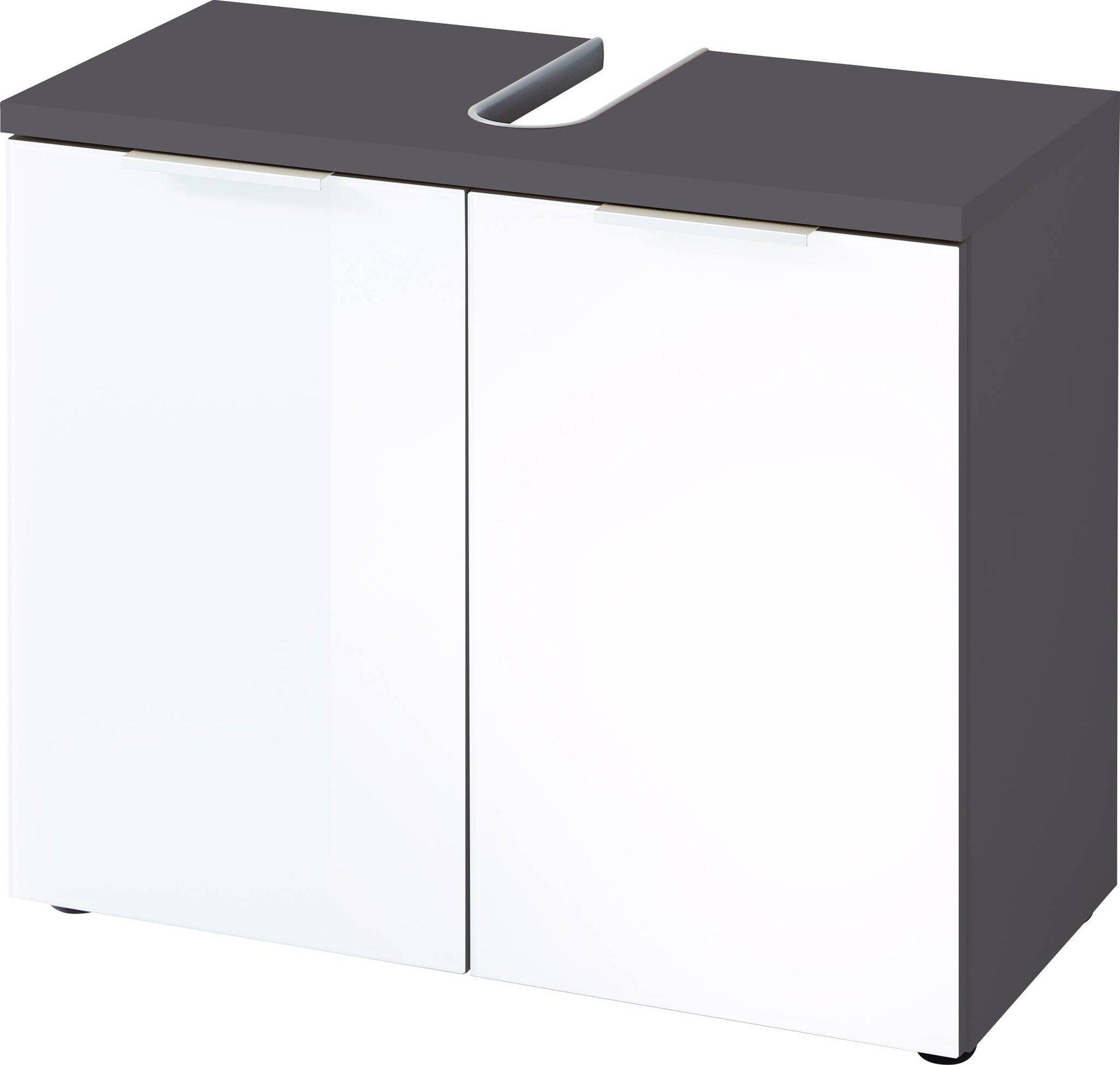 Waschbeckenunterschrank GW-PESCARA Germania Metall 34 x 58 x 70 cm