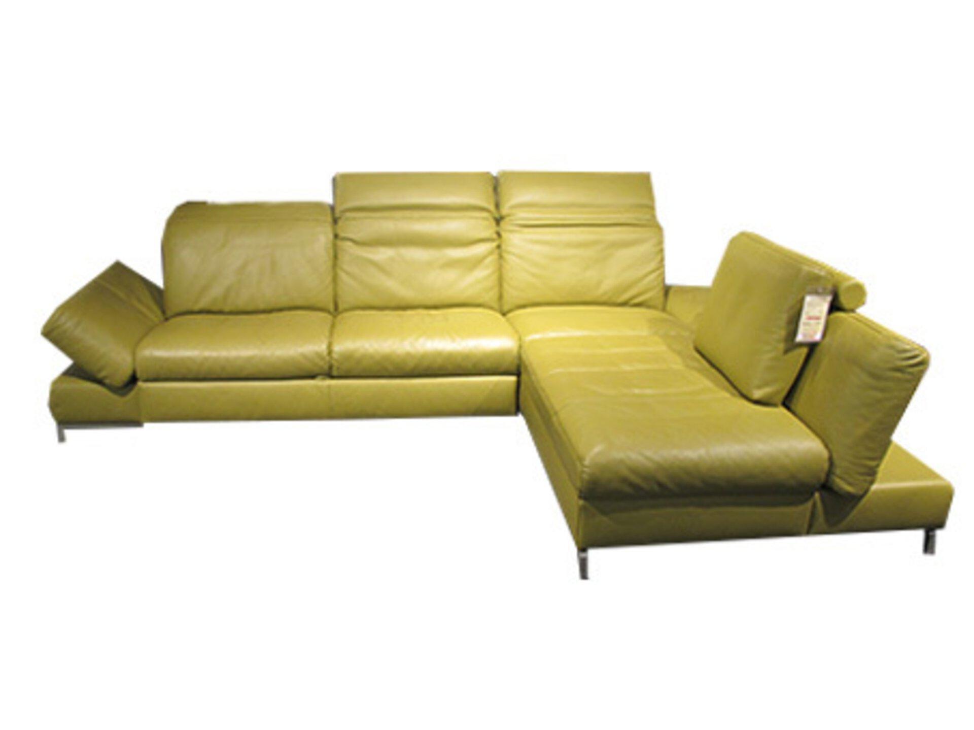 Ecksofa 1510 BPW Leder 213 x 85 x 319 cm