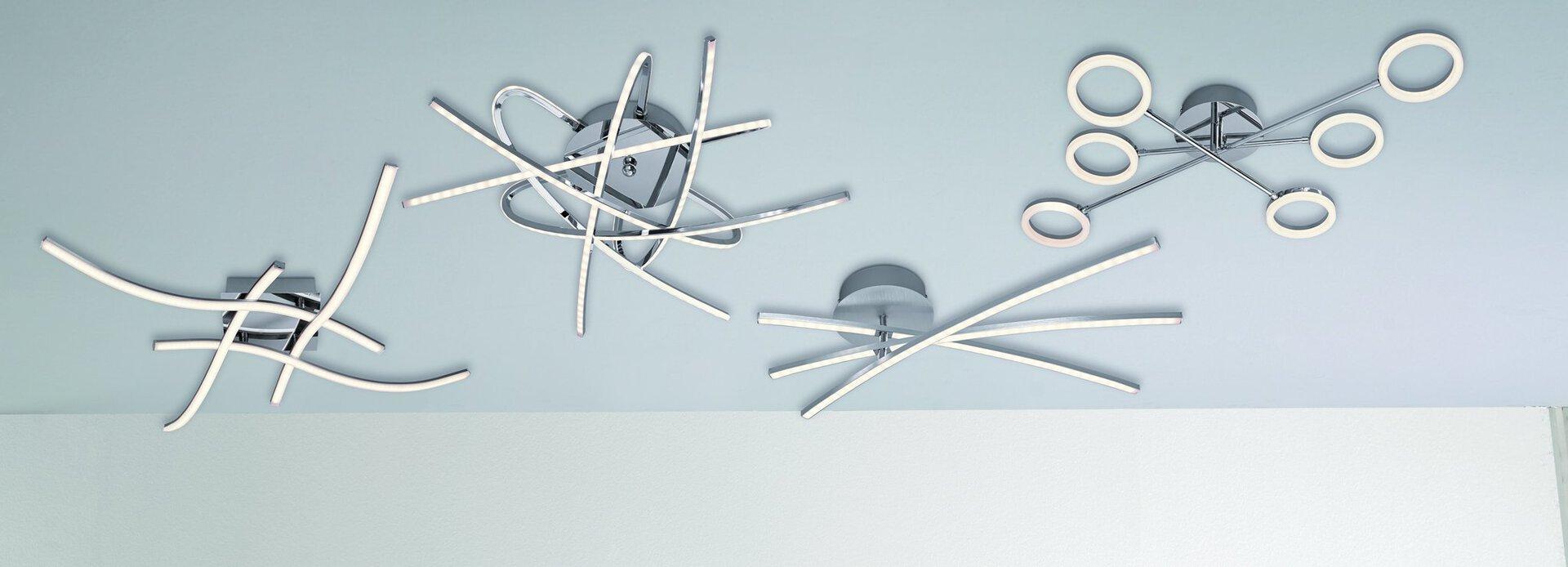 Deckenleuchte Dojo Casa Nova Metall 60 x 15 x 20 cm