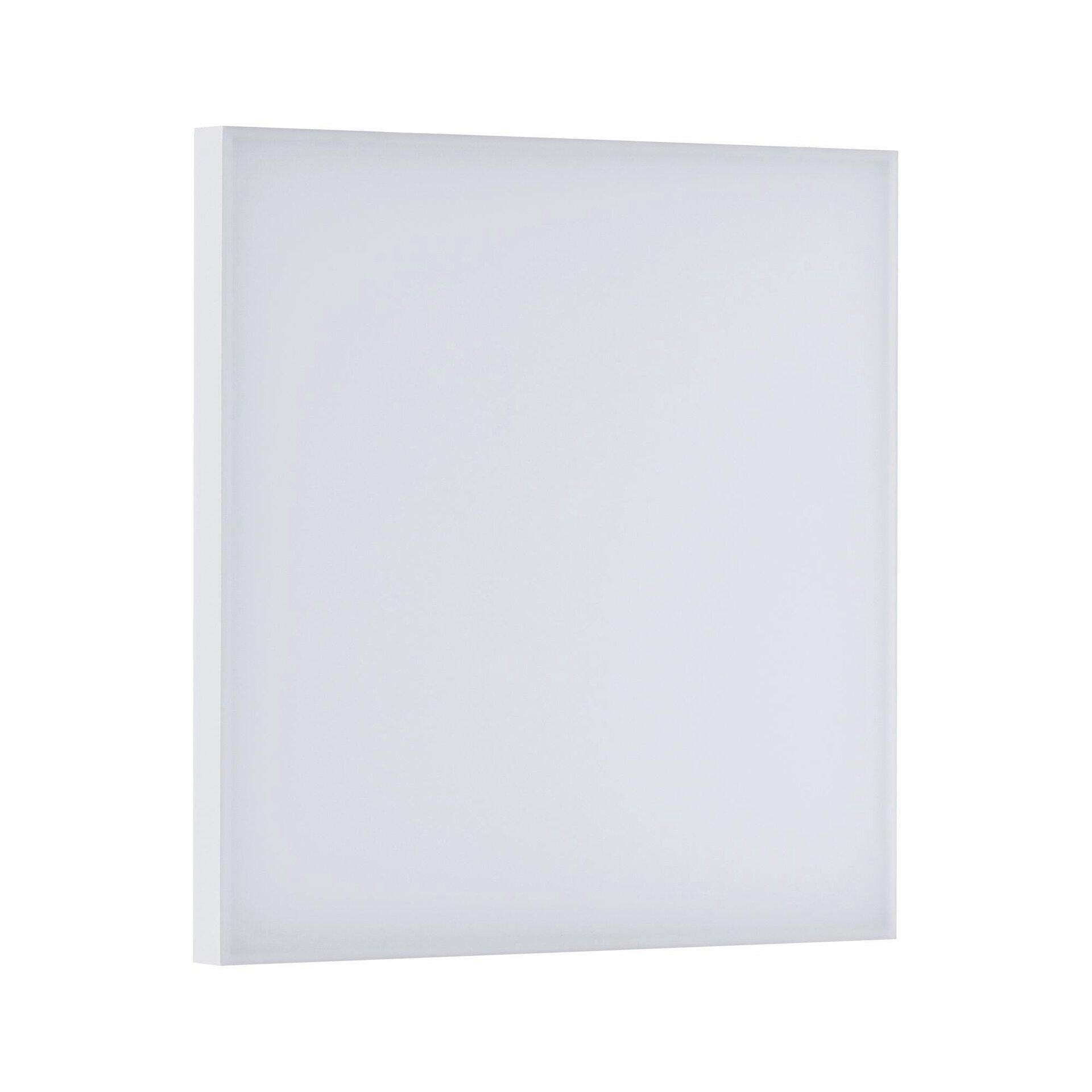 Panel Velora Paulmann Metall weiß 60 x 5 x 60 cm