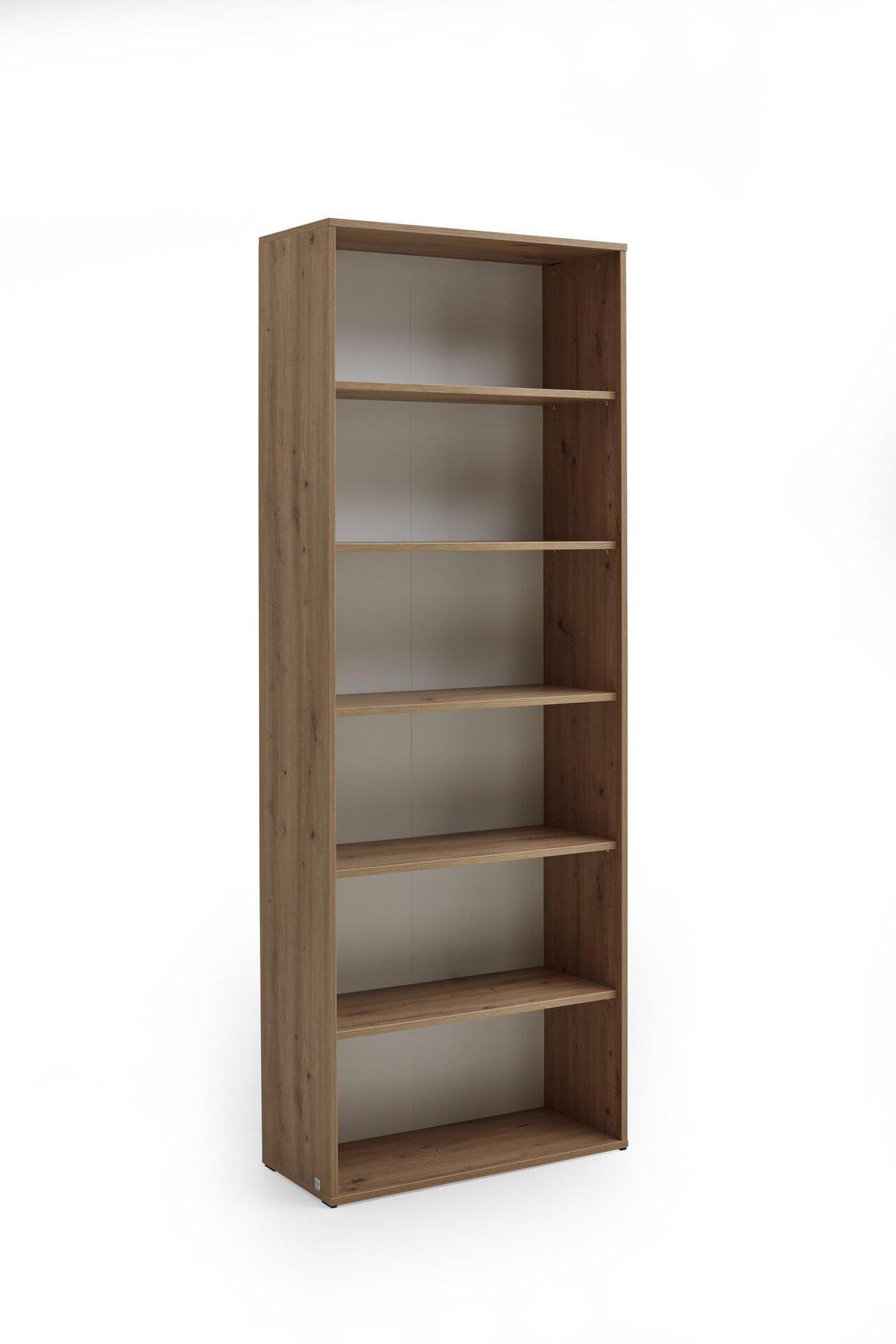 Regal PRONTO Vito Vito Holzwerkstoff braun 35 x 216 x 80 cm
