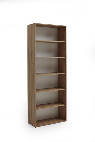 Aktenregal Vito Holzwerkstoff Weiss/Artisan Eiche Nachbildung ca. 35 cm x 216 cm x 80 cm