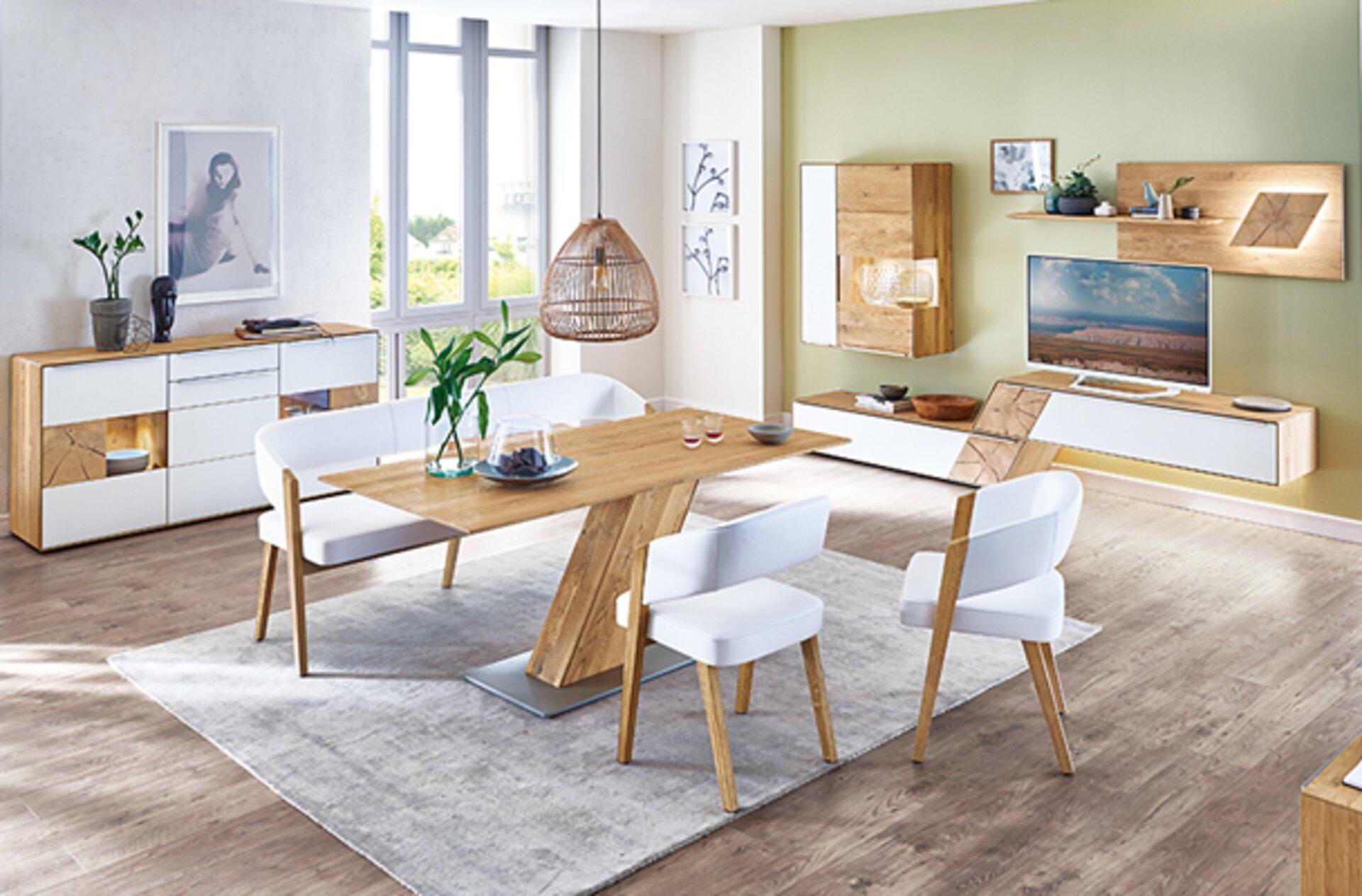 Valmondo, Möbel Inhofer, Esszimmer, Stühle, Tisch, Wohnen, Esszimmer