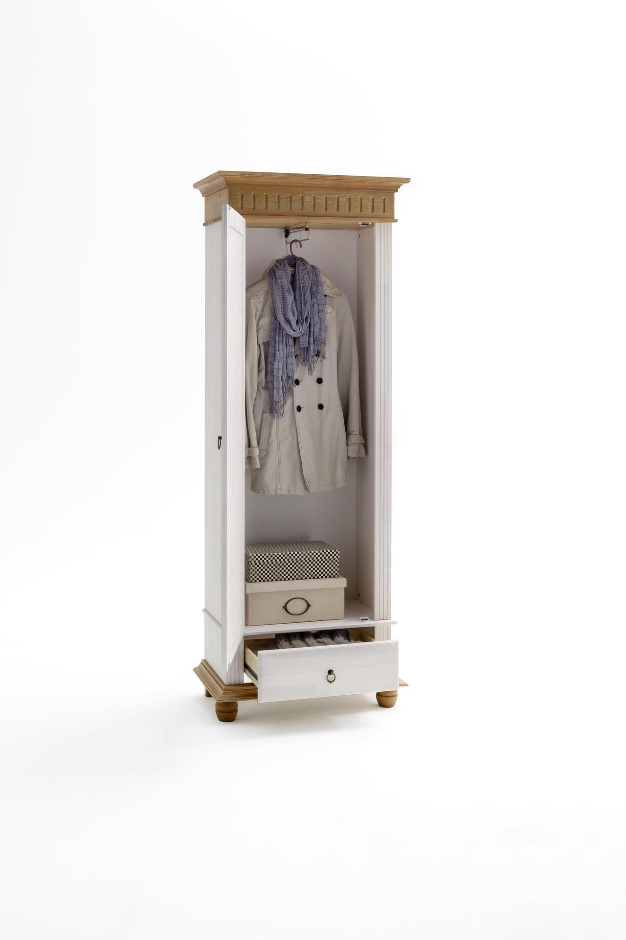 Garderobenschrank HELSINKI inDoor Holz 41 x 194 x 72 cm
