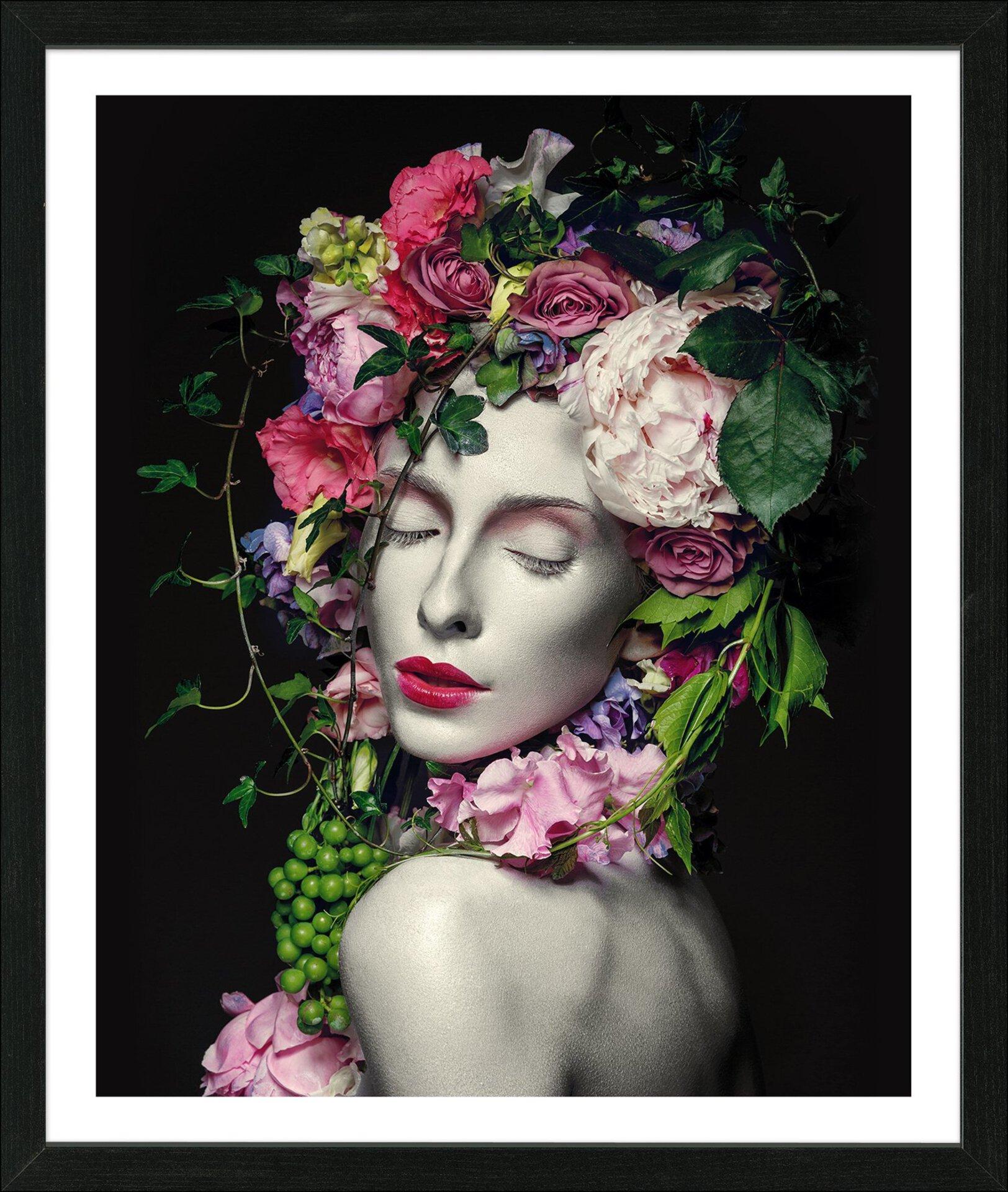 Bild Flowerwoman Pro-Art Holzwerkstoff mehrfarbig 65 x 55 x 3 cm