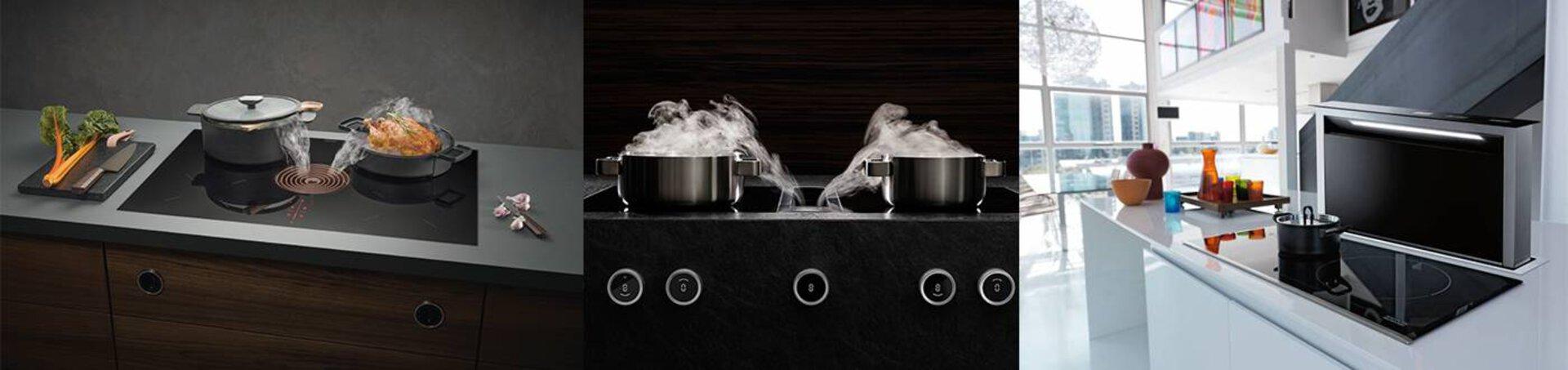 Einbaugeräte im Kochbereich
