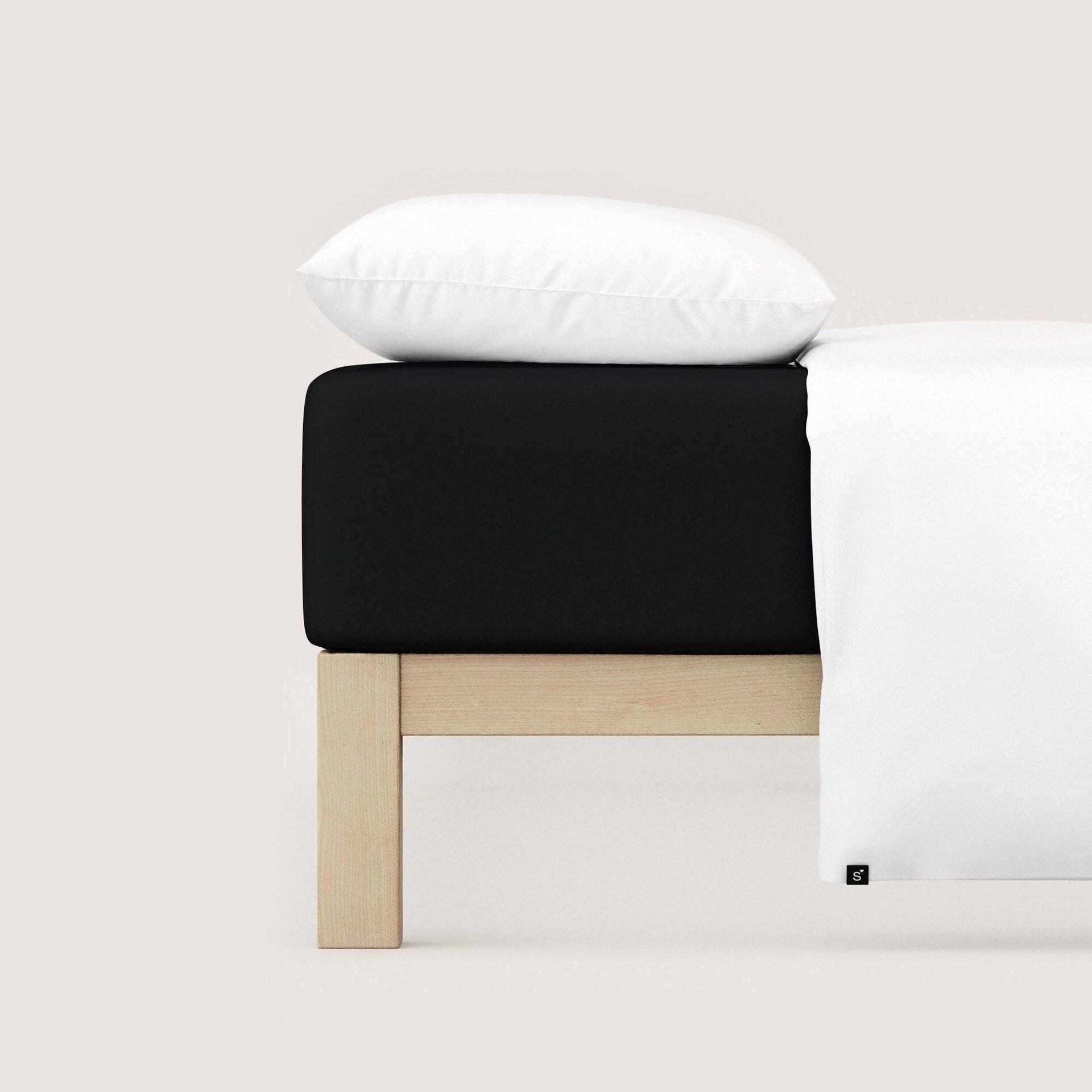 Jersey-Spannbetttuch Schlafgut Textil 120 x 200 cm