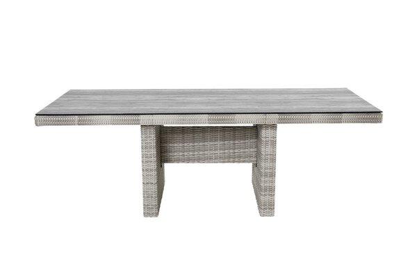 Diningtisch LC Wholesaler Textil white grey
