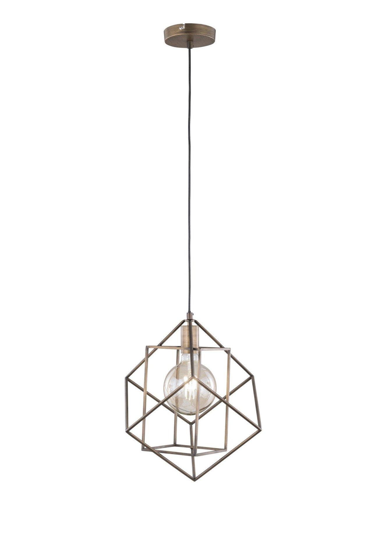 Pendelleuchte Girona Wofi Leuchten Metall 38 x 120 x 38 cm
