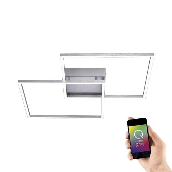Smart-Home-Leuchten Paul Neuhaus Metall stahl ca. 53 cm x 7 cm x 53 cm