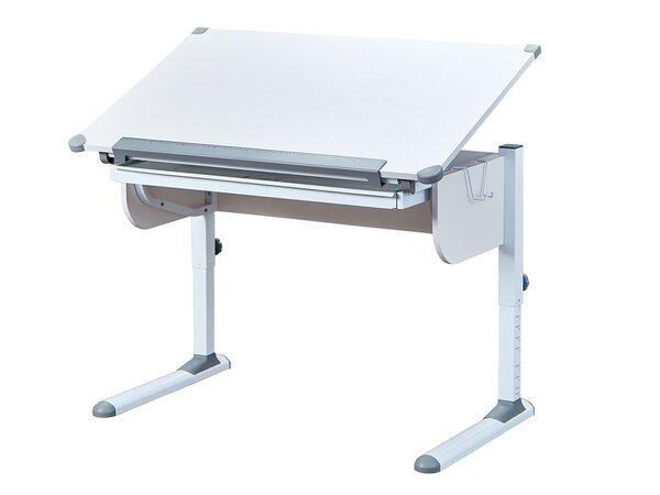 Kindertisch CELECT Holzwerkstoff, Metall MDF Weiss
