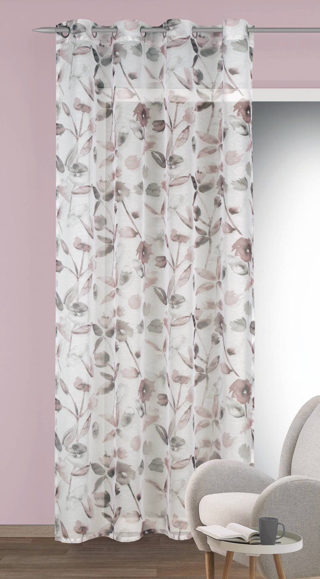 Ösenschal Asra Albani Textil weiß 135 x 245 cm