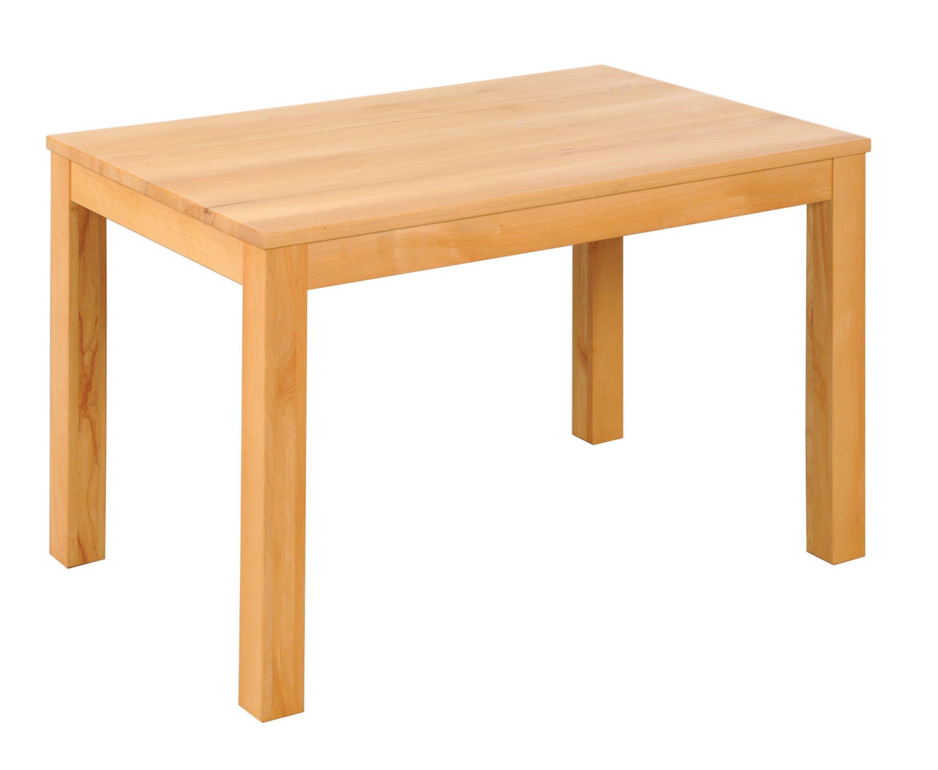 Esstisch DIEZ Dinett Holz braun 90 x 75 x 140 cm