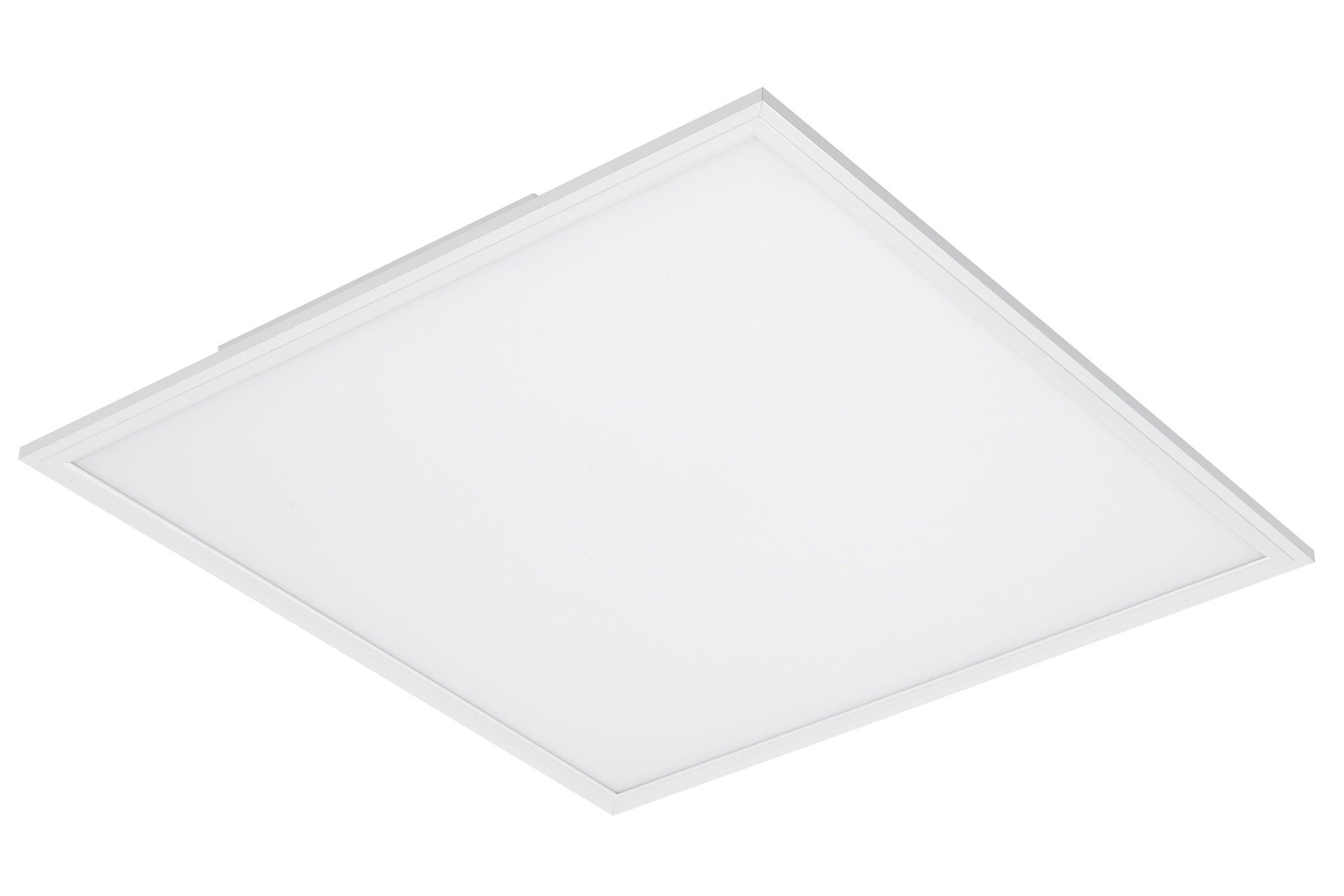 Deckenleuchte Piatto Briloner Metall weiß 60 x 5 x 60 cm