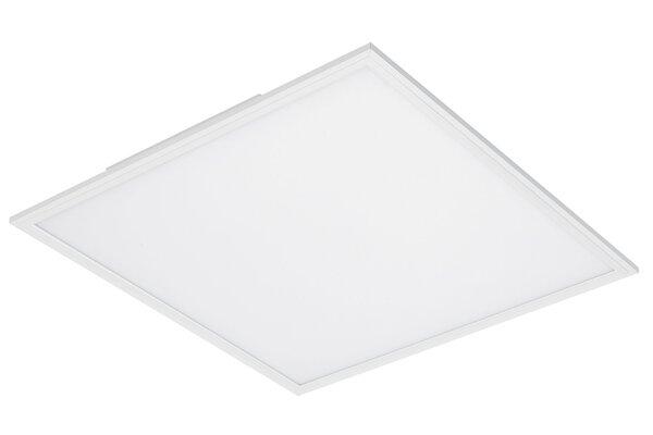 Deckenleuchte Briloner Metall weiß ca. 60 cm x 5 cm x 60 cm