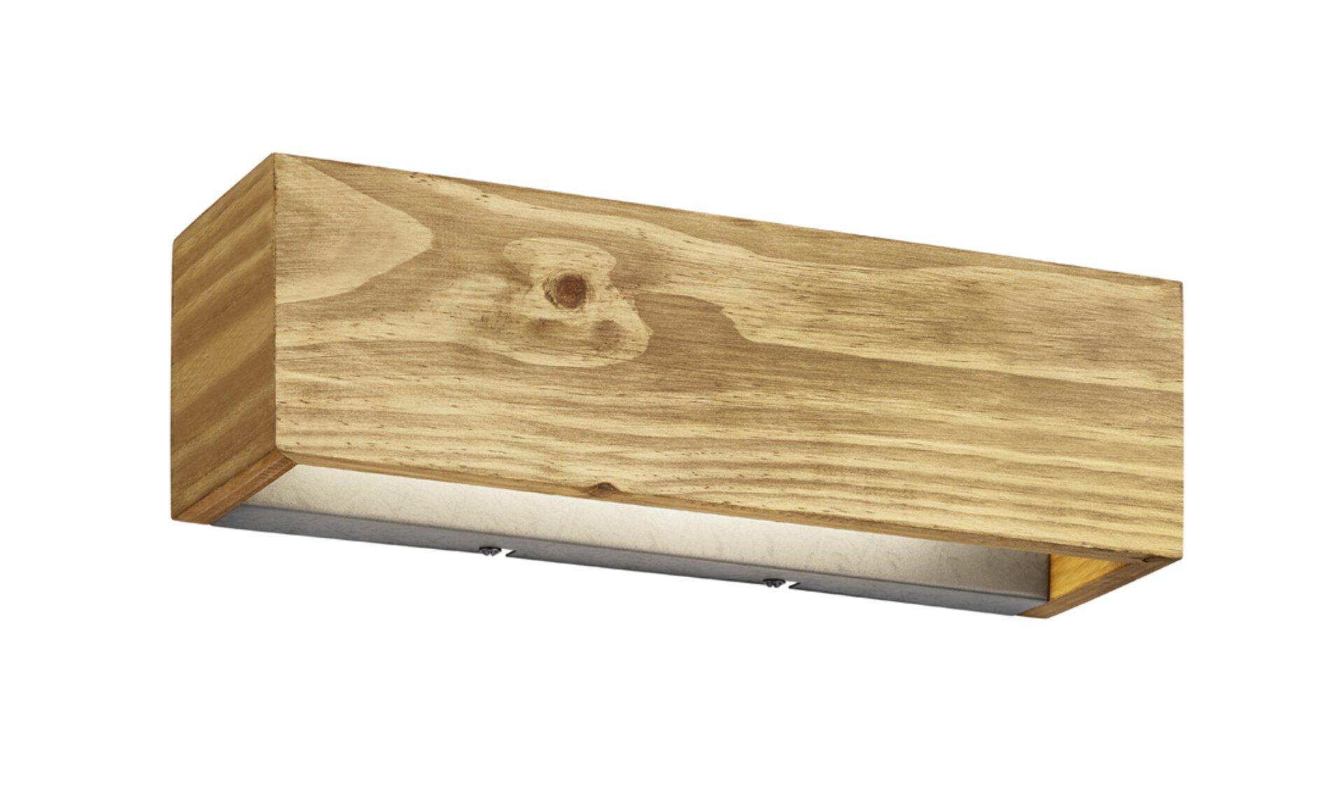 Wandleuchte Brad Trio Leuchten Holz 11 x 11 x 37 cm