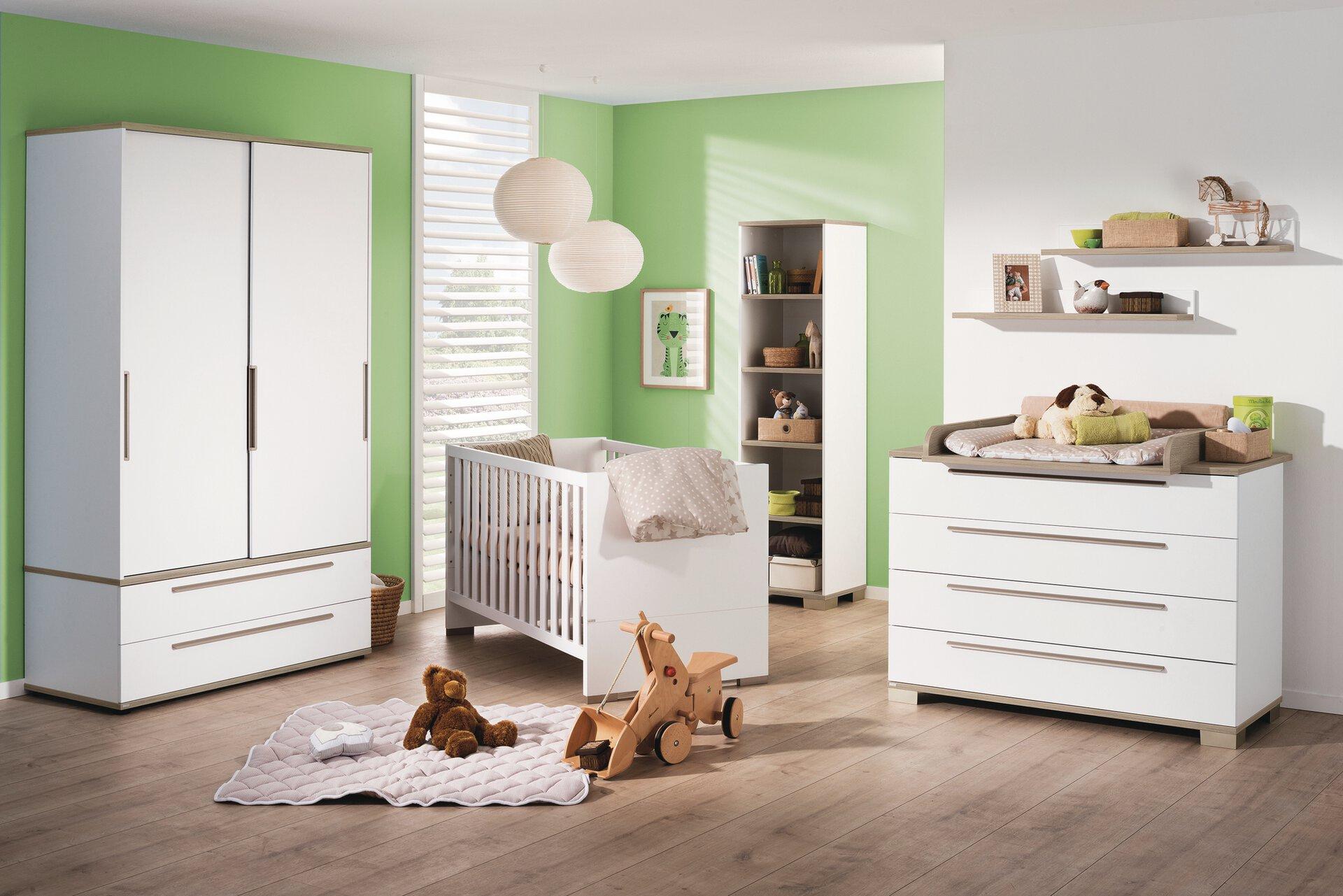 Babyzimmer CARLO PAIDI Holzwerkstoff 145 x 83 x 76 cm