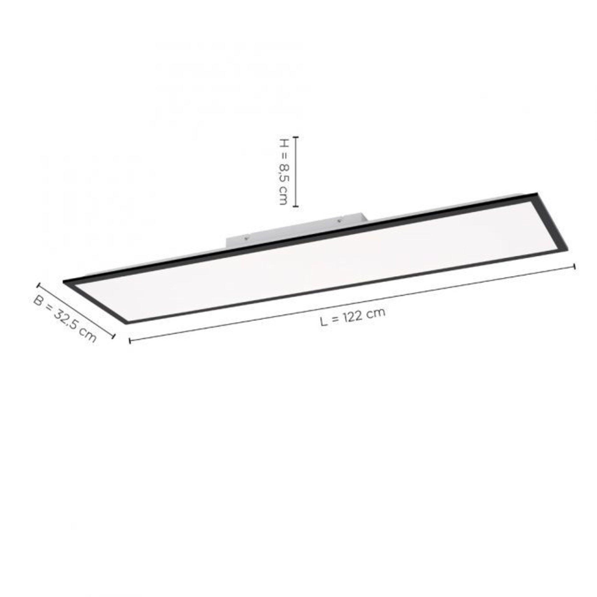 Deckenleuchte FLAT Leuchtendirekt Metall 30 x 7 x 119 cm