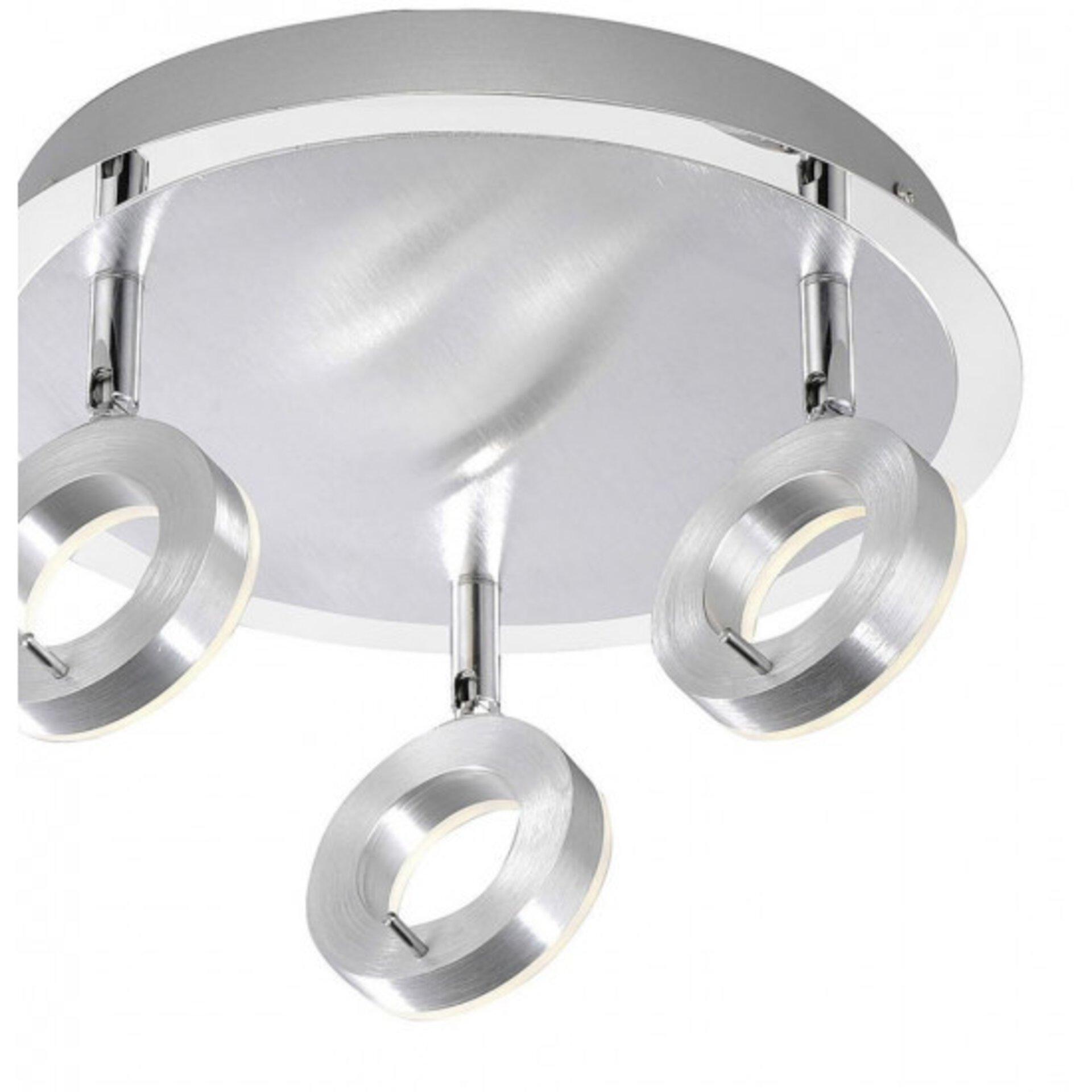 Deckenleuchte SILEDA Paul Neuhaus Metall silber 34 x 17 x 34 cm