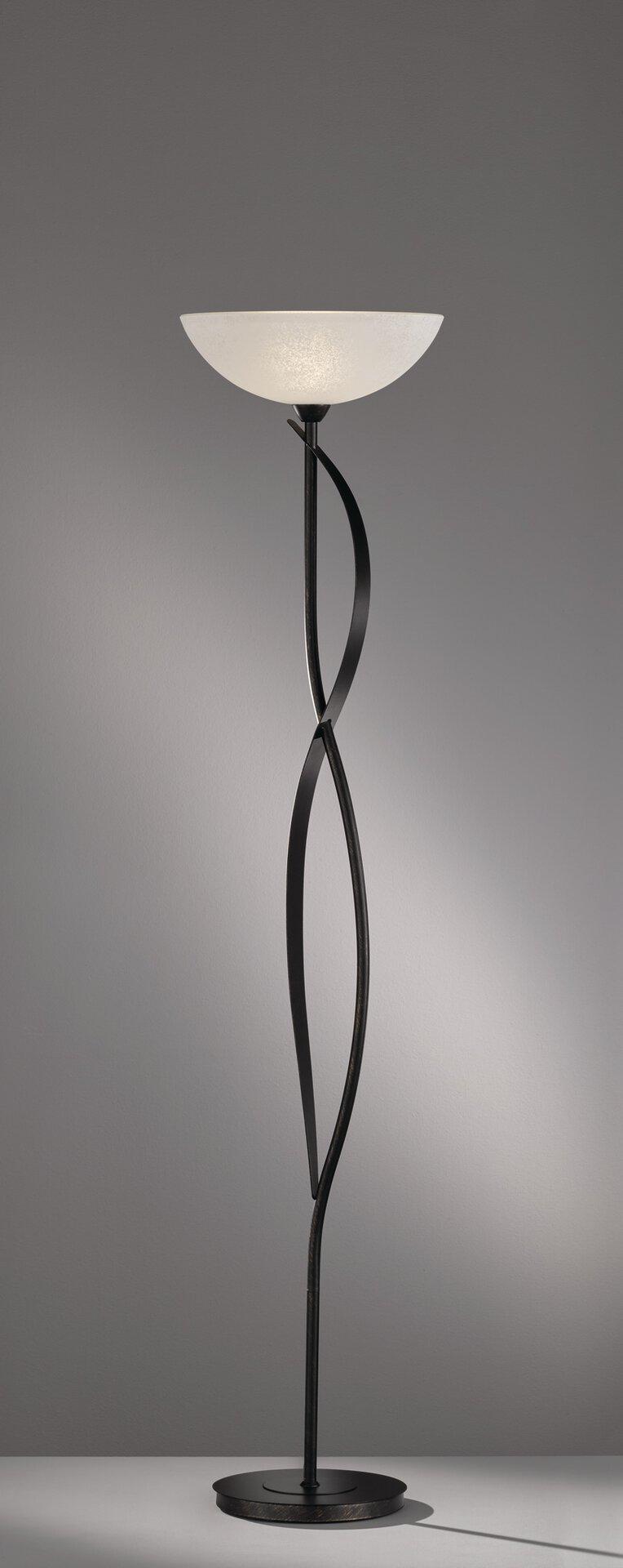 Stehleuchte Pueblo Fischer-Honsel Metall gold 39 x 178 x 39 cm