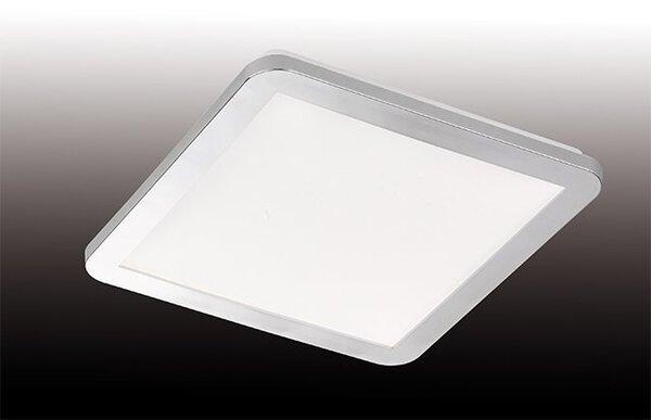 Bad-Deckenleuchte Fischer-Honsel  Metall chrom ca. 30 cm x 3 cm x 30 cm