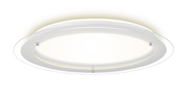 Deckenleuchte Briloner Metall weiß ca. 52 cm x 5 cm x 52 cm