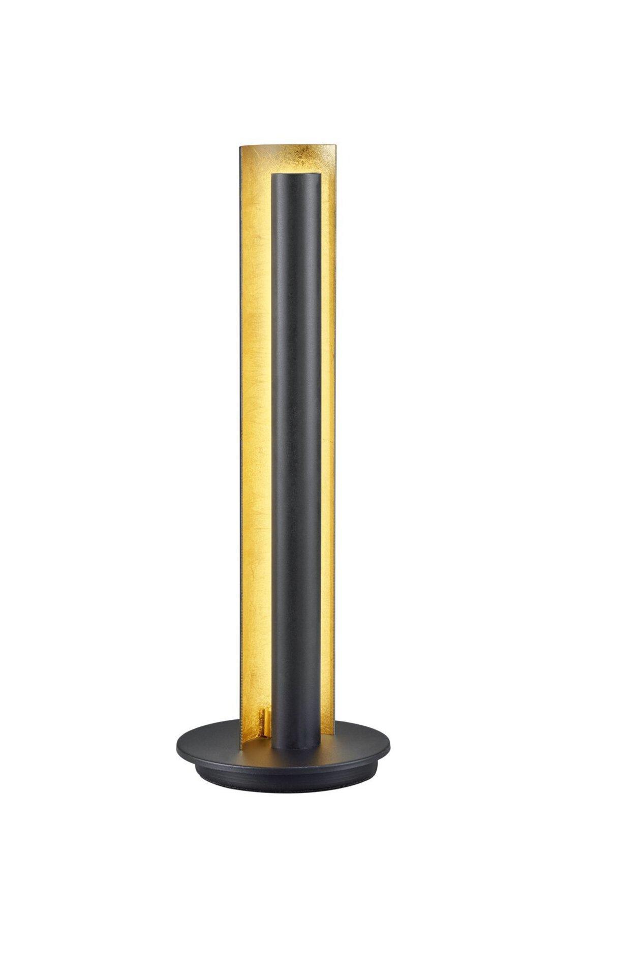 Tischleuchte Texel Trio Leuchten Metall schwarz 16 x 48 x 16 cm