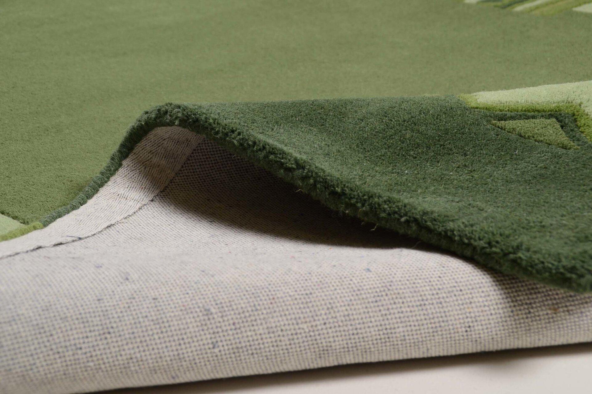 Handtuftteppich Florida Theko Textil grün