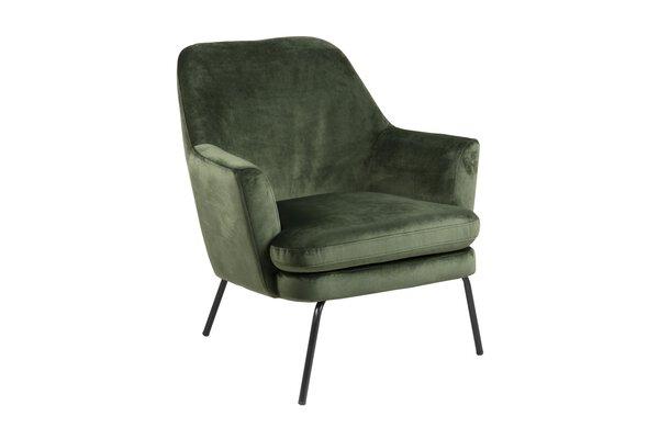 Einzelsessel CELECT Textil VIC waldgrün 68AC ca. 74 cm x 83 cm x 73 cm