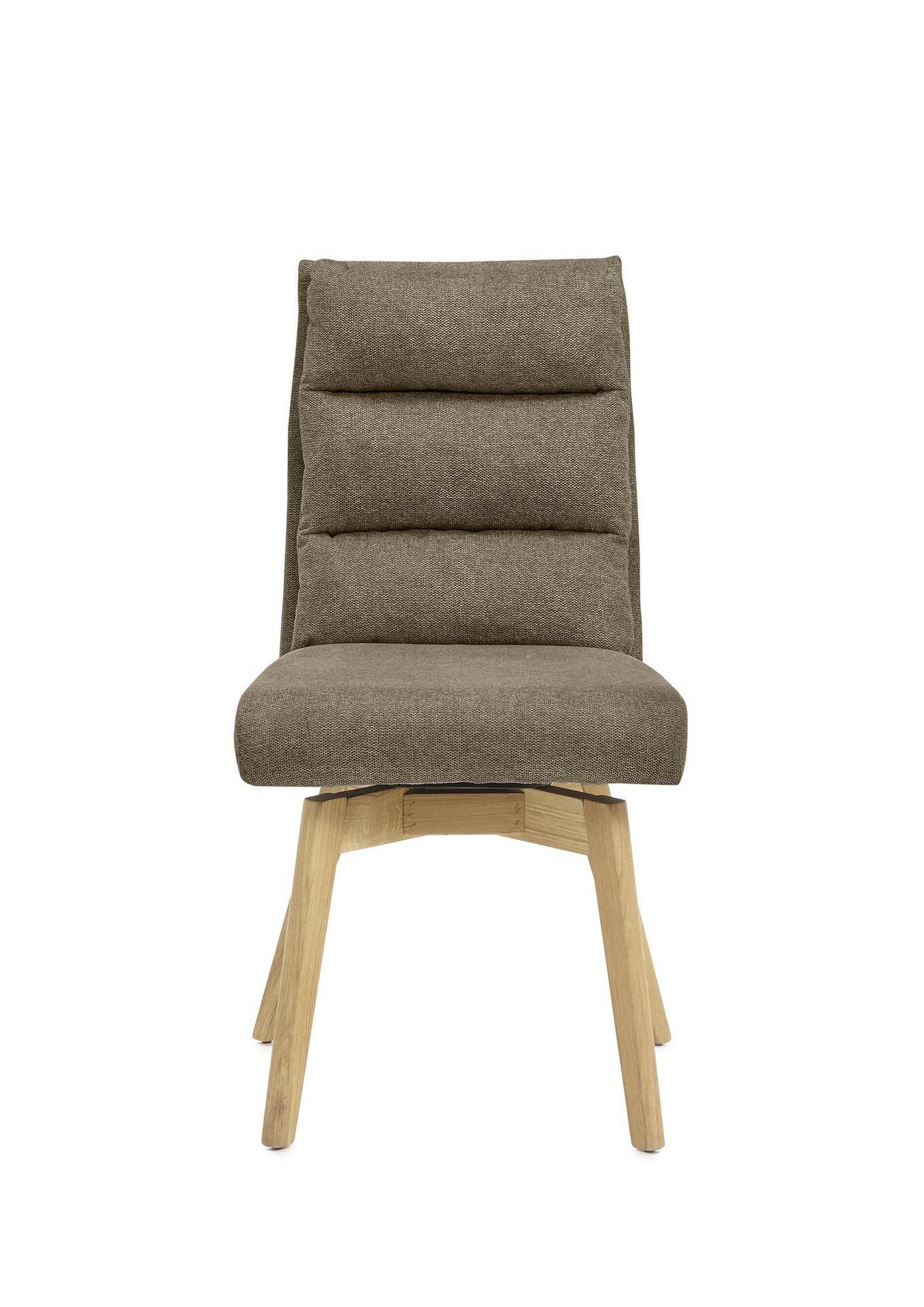 Stuhl KAMPALA MCA furniture Textil braun