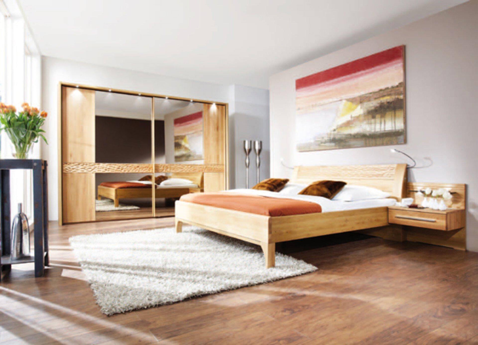 Schlafzimmer PAOLO MONDO Holzwerkstoff mehrfarbig