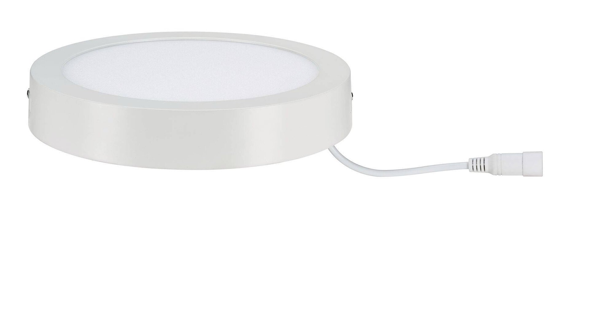 Deckenleuchte LUNAR Paulmann Metall weiß 23 x 4 x 23 cm